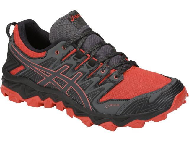 asics Gel-FujiTrabuco 7 G-TX Løbesko Herrer grå/rød (2019) | Running shoes